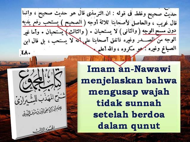 Wahabi Curang Tentang Sunnahnya Mengusap Wajah Setelah Berdoa 3