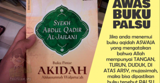 Buku Pintar Akidah Ahlussunnah Wal Jama'ah Palsu Dan Menyesatkan