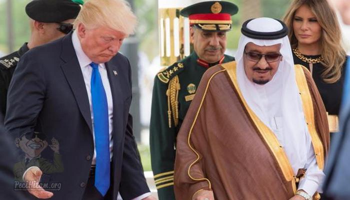 Palestina Tuding Arab Saudi Dukung Trump Serahkan Yerusalem ke Israel