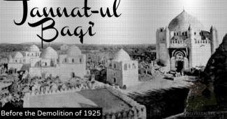 Kuburan Al-Baqi Dihancurkan Salafi Wahabi Secara Barbar