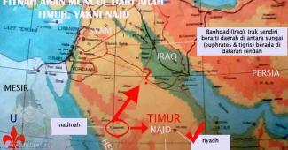 Dimanakah Wilayah Najd, Tempat Lahirnya Muhammad bin Abdul Wahab Itu Berada?