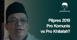 Betulkah Pilpres 2019 Pertarungan Pro Komunis dan Pro Khilafah? Ini Pendapat Gus Nadir
