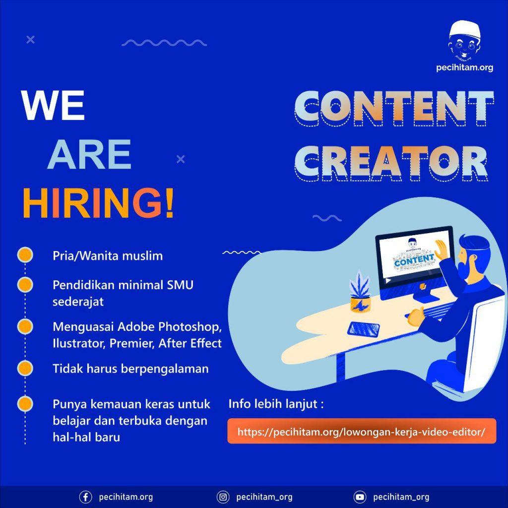 Lowongan Kerja Editor Video 2019