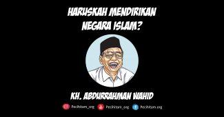 Mendirikan Negara Islam