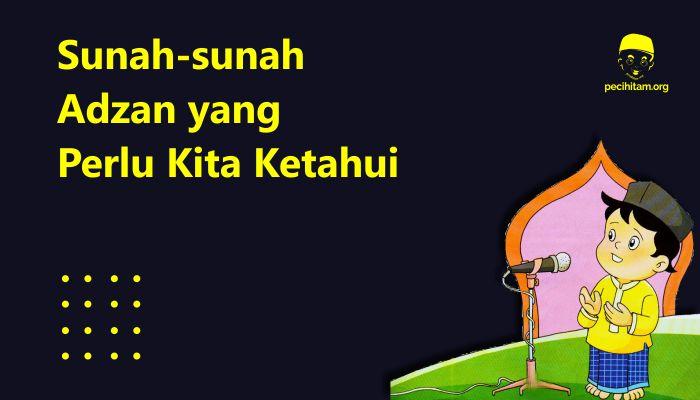 sunnah Adzan