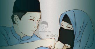 pernikahan wanita salafi wahabi dengan pria nahdliyyin