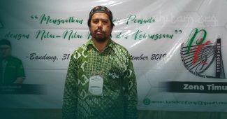 Mantan Ketua HTI Ini Ikut Kaderisasi Ansor Kota Bandung