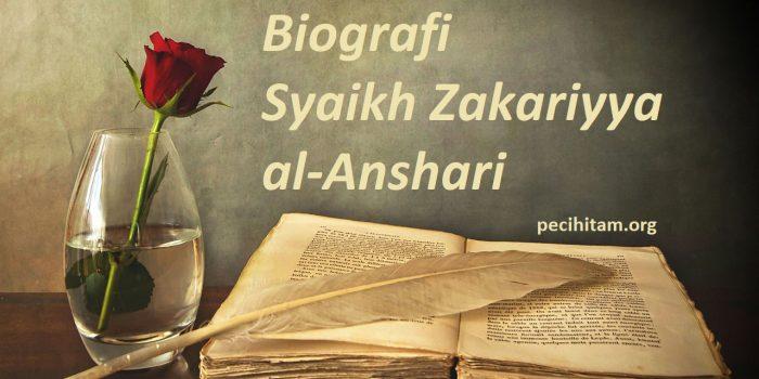 syaikh zakariyya al anshari