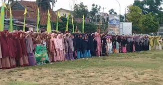 Viral Santri Sulawesi Tak Hormat Bendera di Upacara HSN 2019