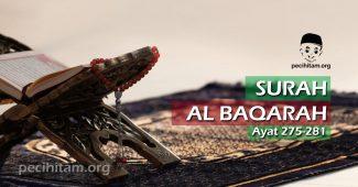 Al Baqarah Ayat 275-281