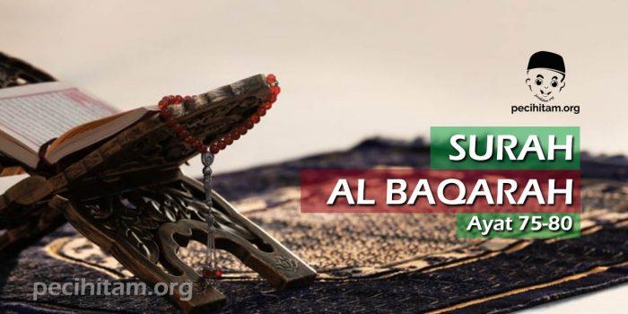Surah Al Baqarah Ayat 75-80