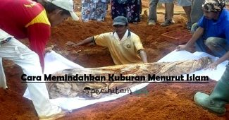 cara memindahkan kuburan menurut islam
