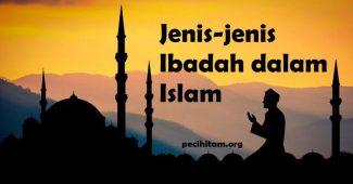 jenis jenis ibadah dalam islam