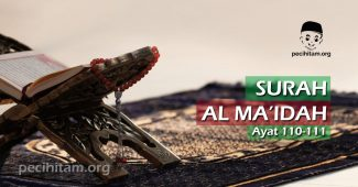 Surah Al-Maidah Ayat 110-111