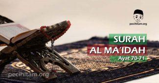 Surah Al-Maidah Ayat 70-71