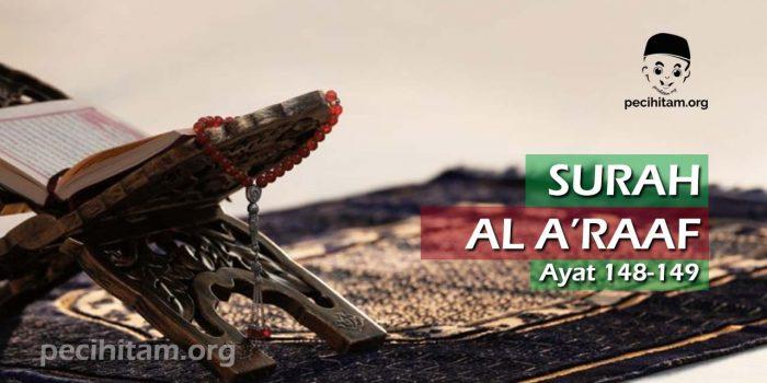 Surah Al-A'raf Ayat 148-149