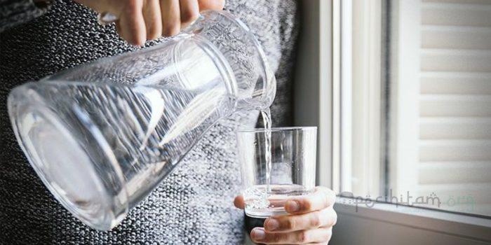 wudhu dengan satu gelas air