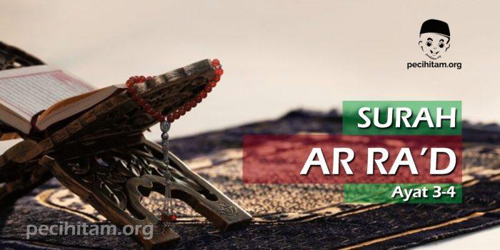 Surah Ar-Ra'd Ayat 3-4