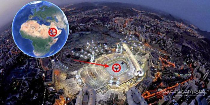 ka'bah sebagai pusat bumi