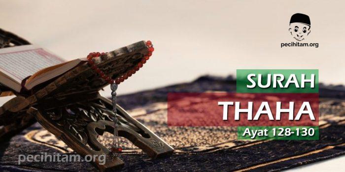 Surah Thaha Ayat 128-130