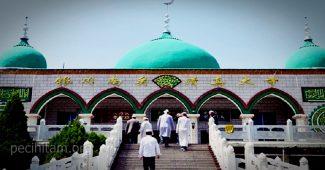 doa masuk masjid hari jumat