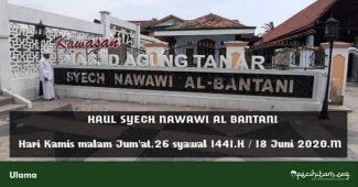 Haul Syekh Nawawi al Bantani