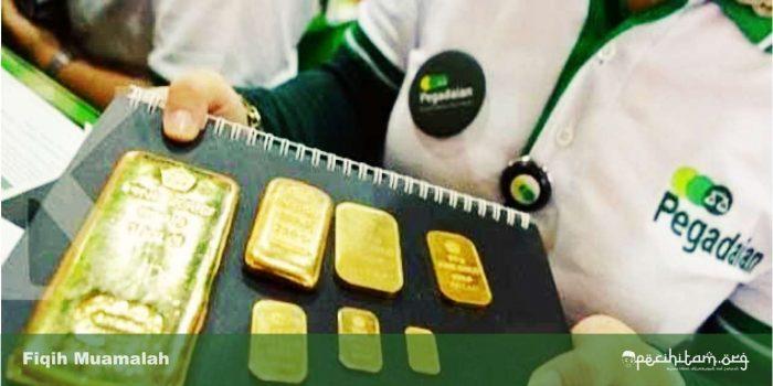 hukum jual beli emas online