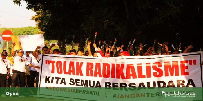 faktor penyebab gerakan radikal