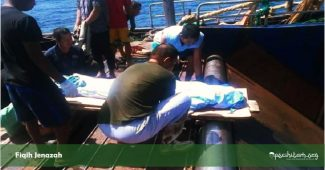 hukum membuang jenazah ke laut