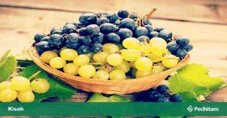 rasulullah makan anggur