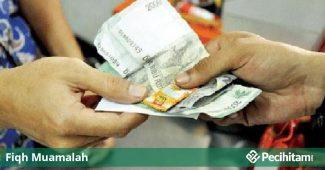 uang kembalian diganti permen